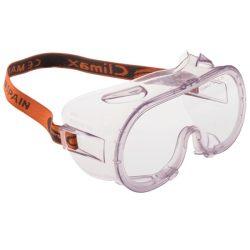 Climax 539 gumipántos vegyvédelmi szemüveg