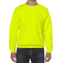 GI18000 HEAVY BLEND™ Safety Green pulóver