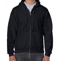 GI18600 HEAVY BLEND™ fekete kapucnis pulóver