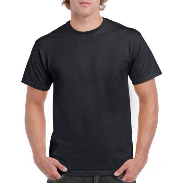 GI5000 HEAVY COTTON™  fekete póló