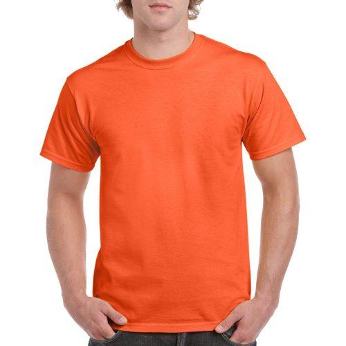 GI5000 HEAVY COTTON™ Safety Orange láthatósági póló
