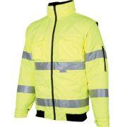 HOWARD PILÓTA DZSEKI Safety Green / levehető ujjakkal /