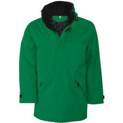 Bélelt kabát KA677 ZÖLD L