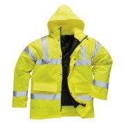 PW S460 - Jól láthatósági kabát - sárga