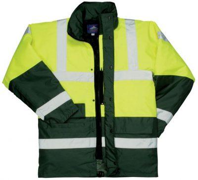 PW S466 - Kontraszt Traffic kabát sárga   kék - Munkaruha - Munkavédelmi  kesztyű - Munkavédelmi bakancs - Munkavédelmi sisak - Testheveder -  Munkavédelmi ... a49fae6397
