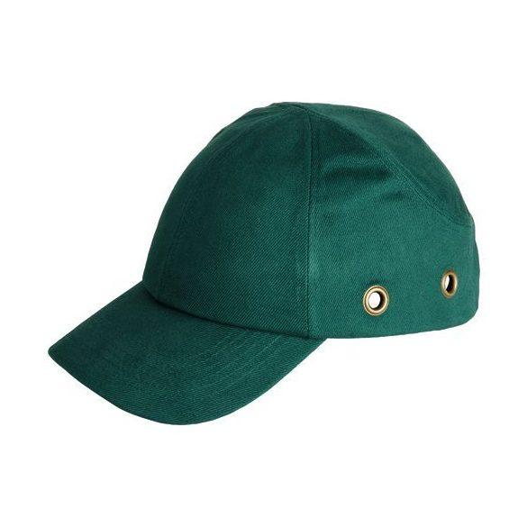 BASEBALL Sapka ütésbiztos - Ütésbiztos sapka - Ütésbiztos fejvédő zöld