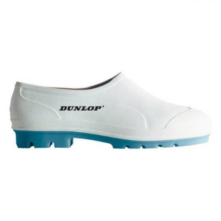 DUNLOP Nitriltalpú PVC cipő fehér