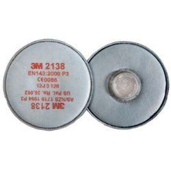 3M 2138 P3 Aktívszenes Szűrőbetét
