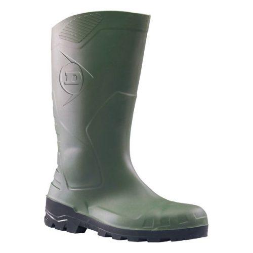 Dunlop PVC munkavédelmi csizma (zöld) | ML Safety Munkaruház