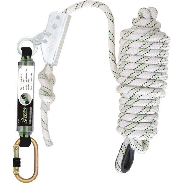 Kratos zuhanásgátló szett energiaelnyelővel 10 méteres kötéllel