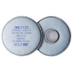 3M 2128 P2 aktívszenes Szűrőbetét
