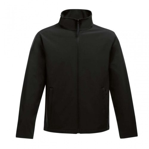 REGATTA BLACK SOFTSHELL kabát