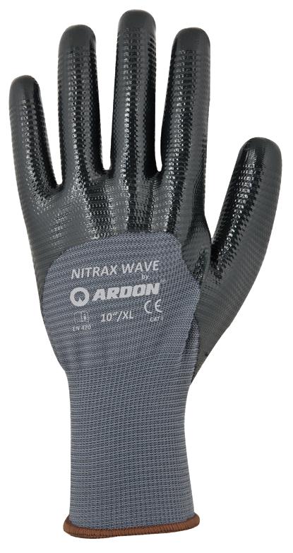 Szerelőkesztyű Nitrax